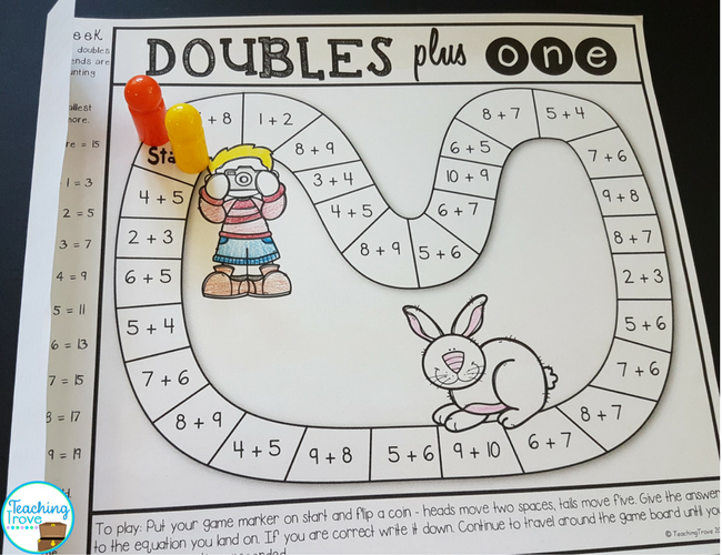 Use homework games to make consolidating math fun.