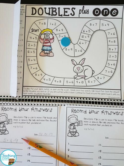 Homework games for math can be used to help children learn their number facts.