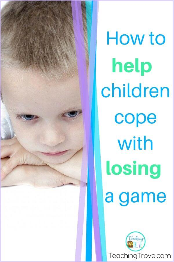 Social skills can be hard for kindergarten and even elementary students. This social skills activity will help kids cope with losing a game. Grab the free download that reminds them of simple coping strategies to take the stress out of playing games.