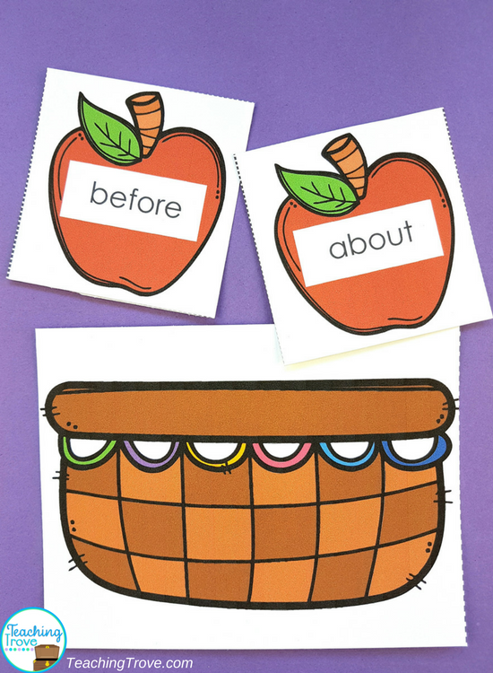 Make differentiating your word lists easy with editable games. Choose from 38 different themes. Use with any word list. Perfect for literacy centers, word work stations or guided reading groups.