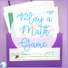 Time to Spare? Play a Math Game!