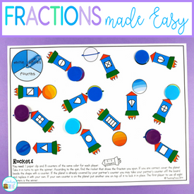 fractions for first and second grades