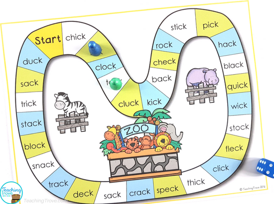 Editable sight word games can be used for spelling words, theme words, phonics