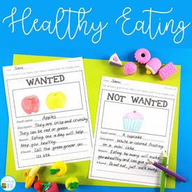 food and nutrition for kindergarten and first grade