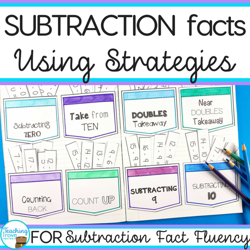 Teaching the subtraction strateiges