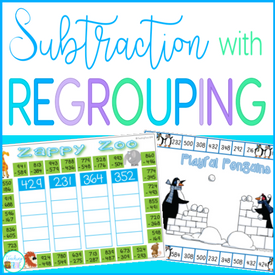 How to make subtraction with regrouping fun