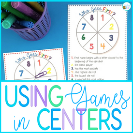 The best way to use math games in your centers