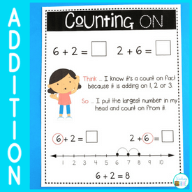 The counting on addition strategy – how to teach it