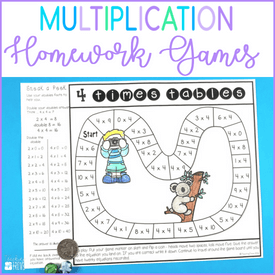 How to make multiplication homework fun for kids
