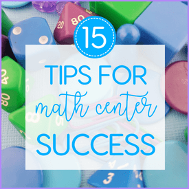 Setting up your Math Centers