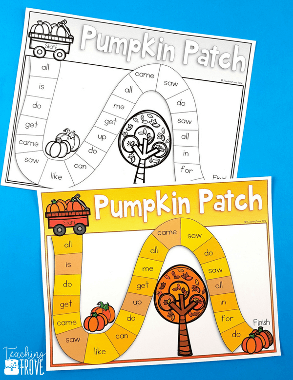 Sight word activities that are editable make it easy to create hands on teaching resources that help even your struggling readers to learn their sight words. With this editable sight word pack you can quickly make 21 literacy centers that target the sight words your class need to learn – all with a fun fall theme. These fun printables are perfect for small groups and centers. #editable #editableactivities #sightword #firstgrade #kindergarten