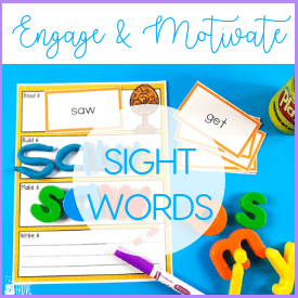 Engage your students with motivating sight word activities