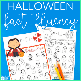 How to improve math fact fluency with bump games