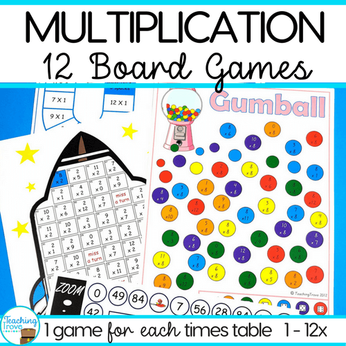 multiplication games for third grade