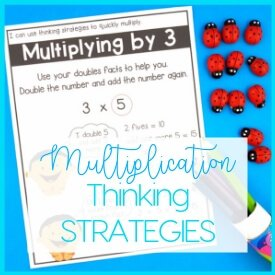 Thinking Strategies make learning Multiplication Easy