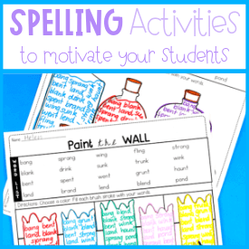 Editable Spelling Lists make Planning Simple