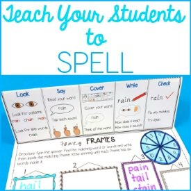49 Motivating Spelling Activities to teach spelling