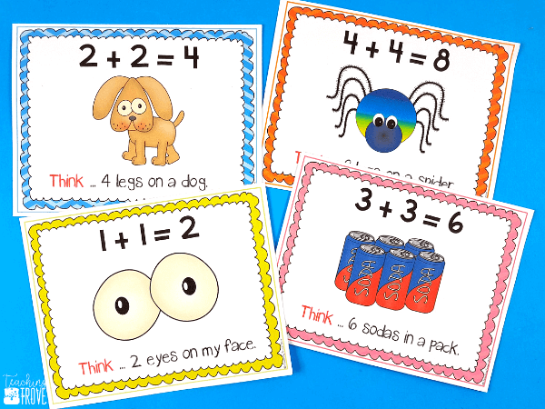 Teach the doubles addition strategy with lots of fun and motivating games and activities.