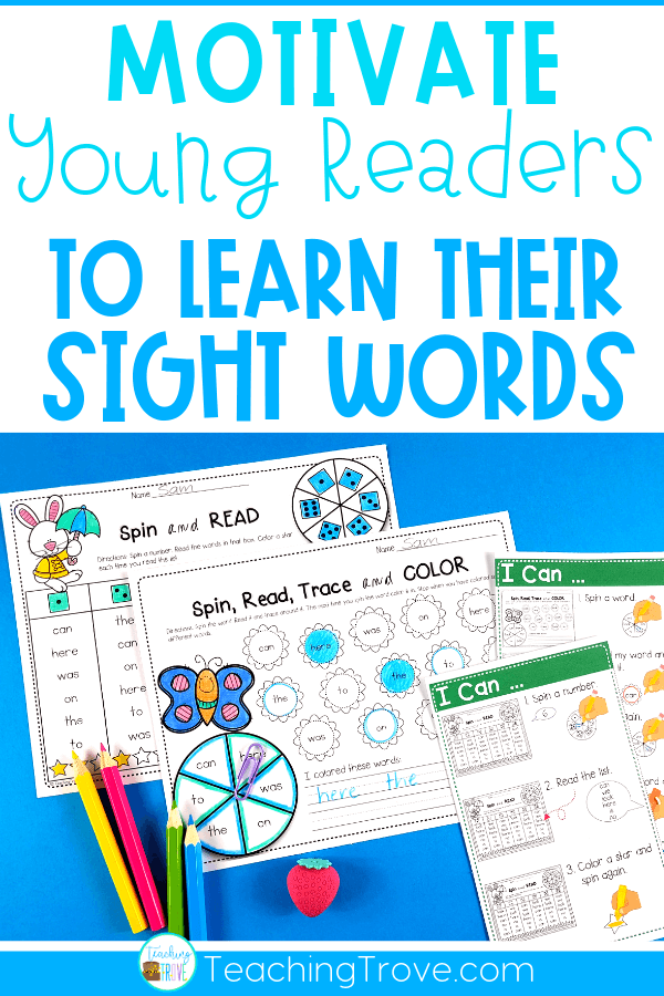Sight word activities that are editable make it easy to create hands on teaching resources that help even your struggling readers to learn their sight words. With this editable sight word pack you can quickly make 21 literacy centers that target the sight words your class need to learn – all with a fun spring theme. These fun printables are perfect for small groups and centers.#wordwork #sightwordactivities #sightwords #kindergarten #literacycenters