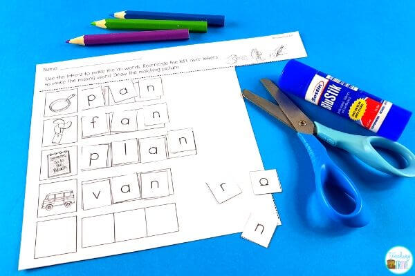 Word family activities for kindergarten and first grade are perfect for your literacy centers and word work stations.
