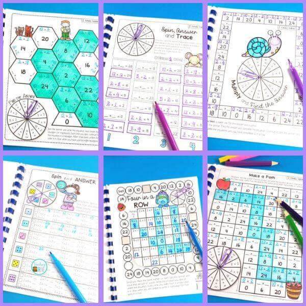 Teaching multiplication to your 3rd grade students should be fun. Use this free multiplication workbook to introduce each multiplication strategy and then interactive worksheets to help them remember their times tables.
