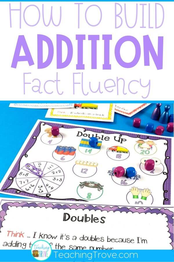 Addition games make learning addition strategies fun. Place in your math centers to help consolidate the mental math strategies you have been teaching to your first and second grade students. Great for math centers, partner work, morning work or extra activities for early finishers.