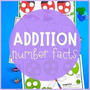 Addition number facts