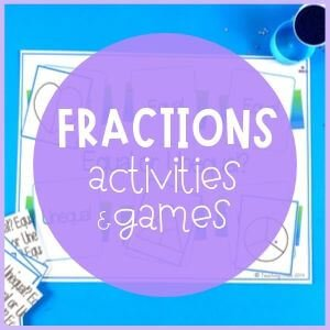 Fractions activities and games