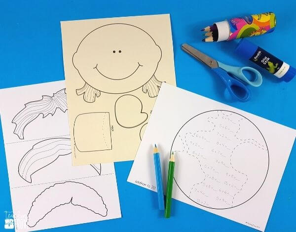Use math crafts in centers.